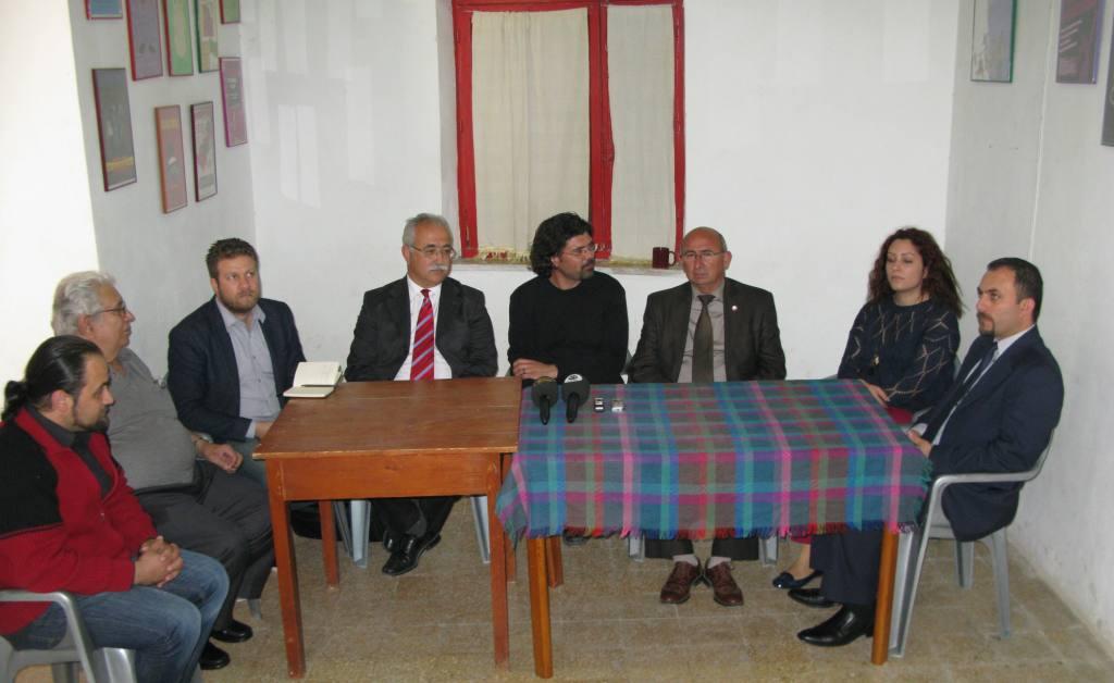 TDP ile BKP ortak ziyaretler başlattı