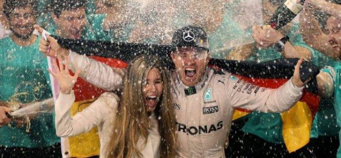 Formula 1 dünya şampiyonu Rosberg