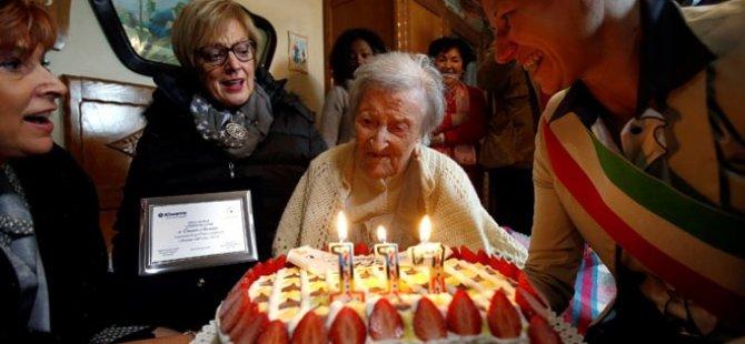 Dünyanın en yaşlı insanı 117. doğum gününü kutladı