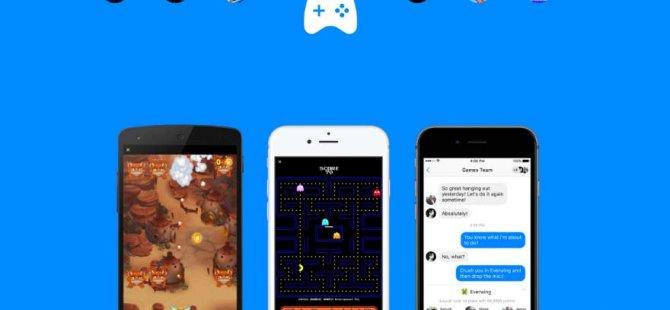 Facebook Messenger'da oyun oynama dönemi