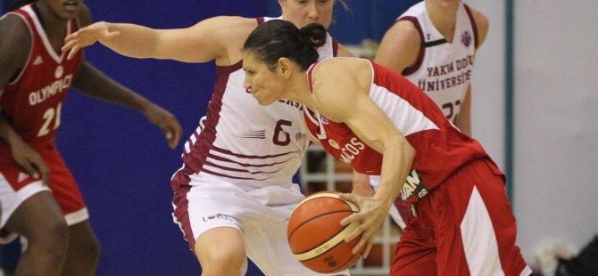 Yakın Doğu Üniversitesi: 83- Olympiacos: 63