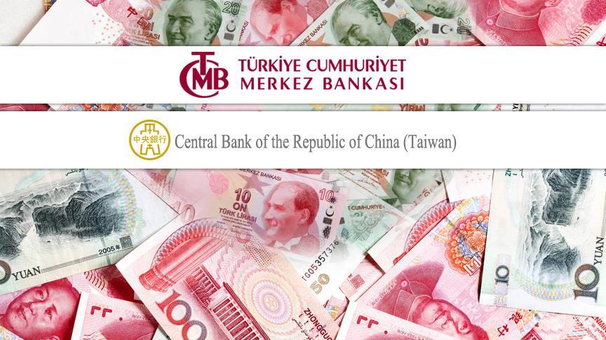 TCMB ile Çin Merkez Bankası arasında ilk para takası gerçekleştirildi