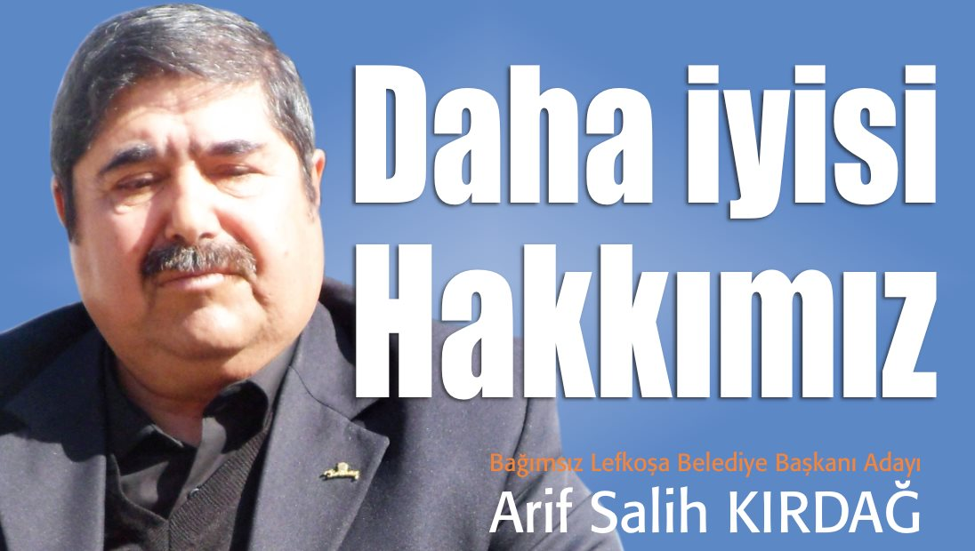 LTB Başkanlığına Bağımsız Adayı Arif Salih Kırdağ