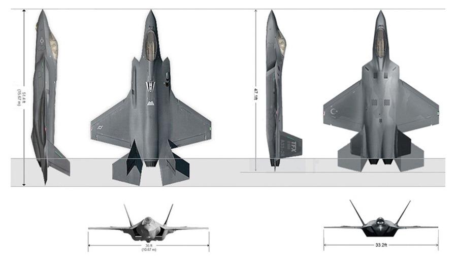 Milli savaş uçağı 100. yılda göklerde