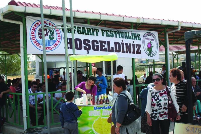 Gafgarıt Festivali'ne yoğun ilgi