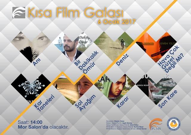DAÜ'de Osman Sınav'ın öğrencileri gala'ya hazır