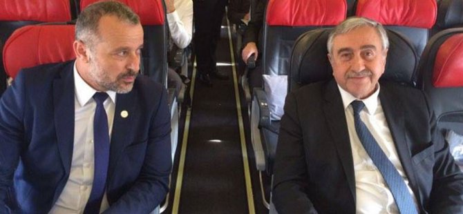 Cumhurbaşkanı Akıncı İzmir'e indi