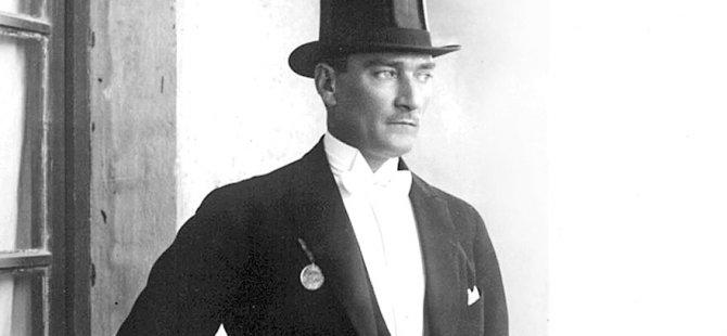 İlham veren tarzıyla Atatürk