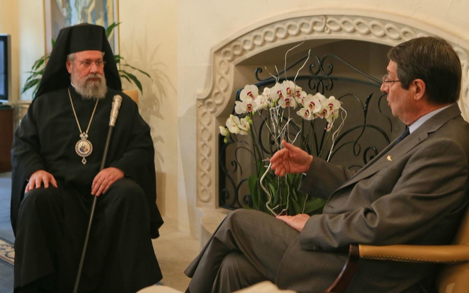 Başpiskopos Hrisostomos: Halk 40 yıldır işgal ve belirsizlik koşulları altında yaşıyor