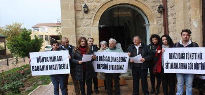 Kıbrıs Çevre Platformu, Karpaz için eylem yaptı...