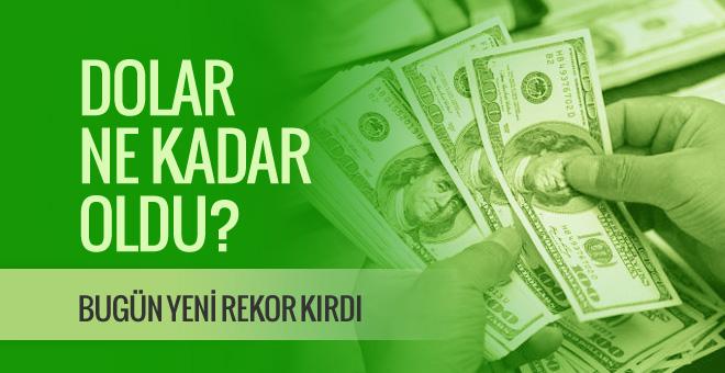 Dolar kaç TL 11.01.2017 dolar kuru için yeni müdahale sinyali