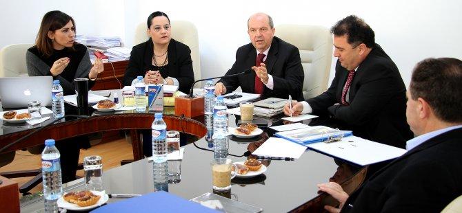 Ercan Havaalanının işletme haklarının devredilmesine ilişkin komite toplandı