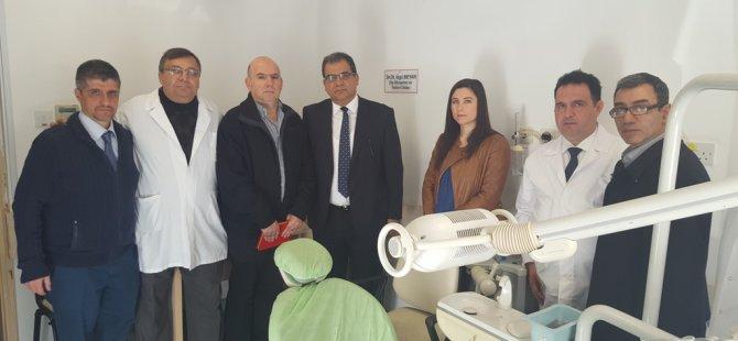Berna Ahmet Raşit ve İzgü Beyar'ın dişçi üniteleri hastaneye bağışlandı