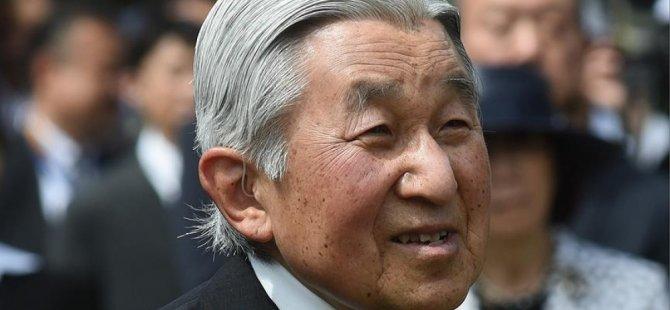 Japonya'da İmparator Akihito için istisnai uygulama