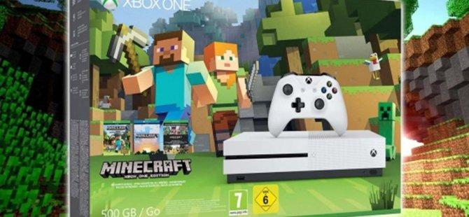 Xbox One S Minecraft sürümü satışa çıktı