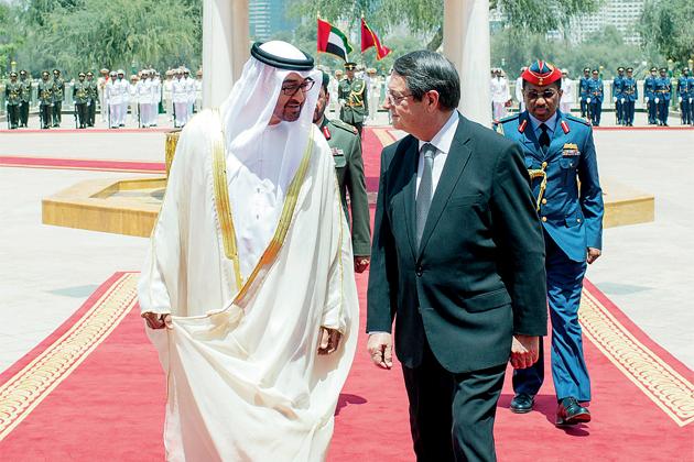 Anastasiades Birleşik Arap Emirlikleri ziyaretini tamamladı