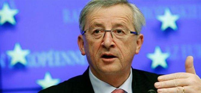 """Juncker: """"Dünya nüfusunun artması nedeniyle AB'nin bütünlüğünü korumalıyız"""""""