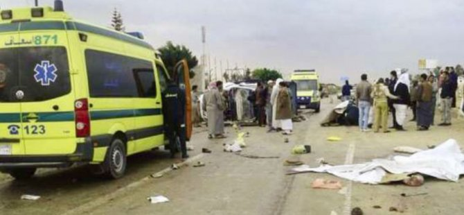 Mısır'da zincirleme trafik kazası
