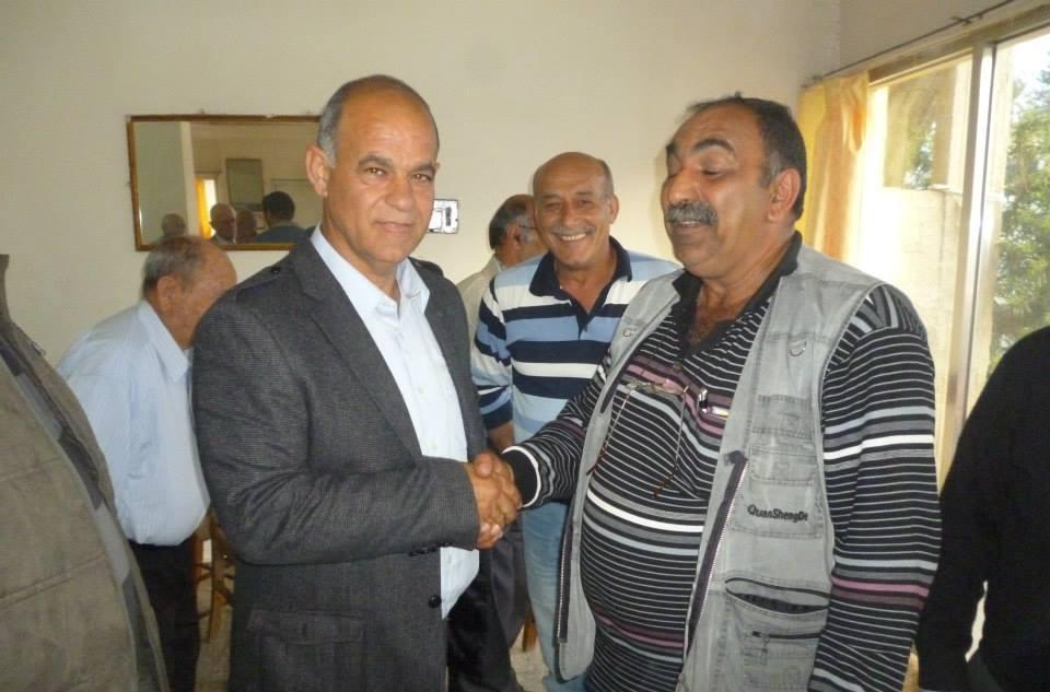 CTP-BG Lefke Belediye Başkan Adayı Kaya, Gaziveren'i Ziyaret Etti