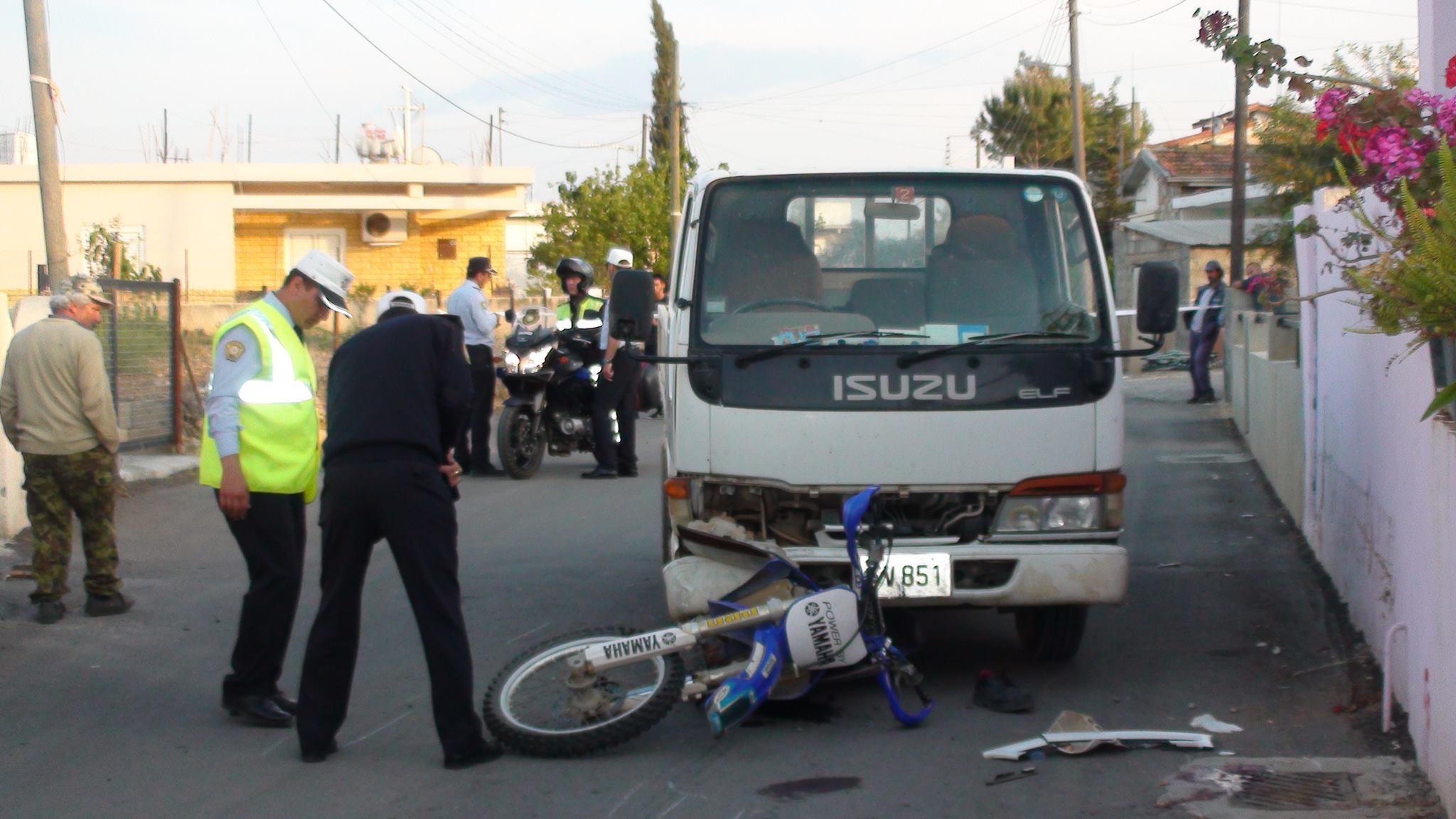 Motosiklet sürücüsü kazada hayatını kaybetti