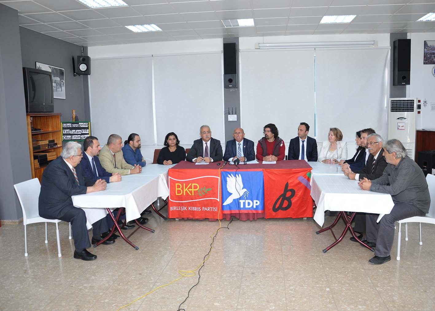TDP, BKP ve Baraka ortak adaylarını açıkladı!