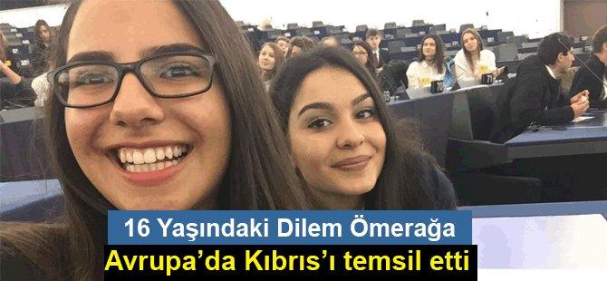 16 yaşında AB'de Kıbrıs'ı temsil etti