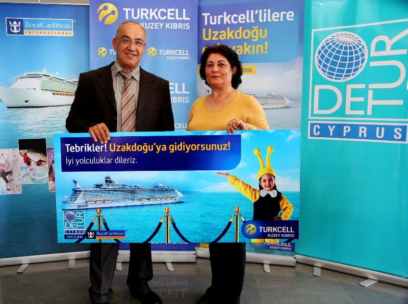 Kuzey Kıbrıs Turkcell'le  DÜNYAYI GEZECEKLER