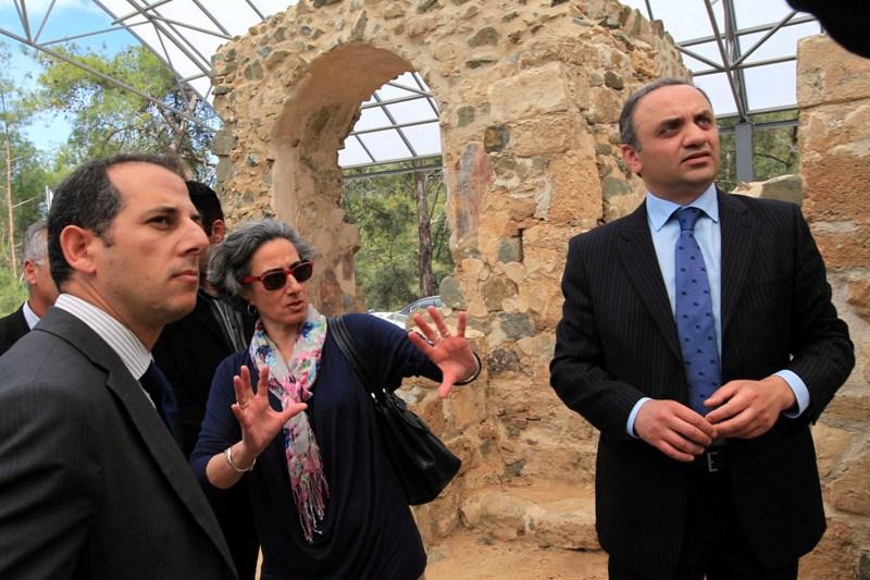Kıbrıs ve Gürcistan kültürel miras konusunda işbirliğini artıracak