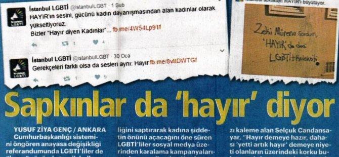Referandum bahane, Akit'in nefreti klişe