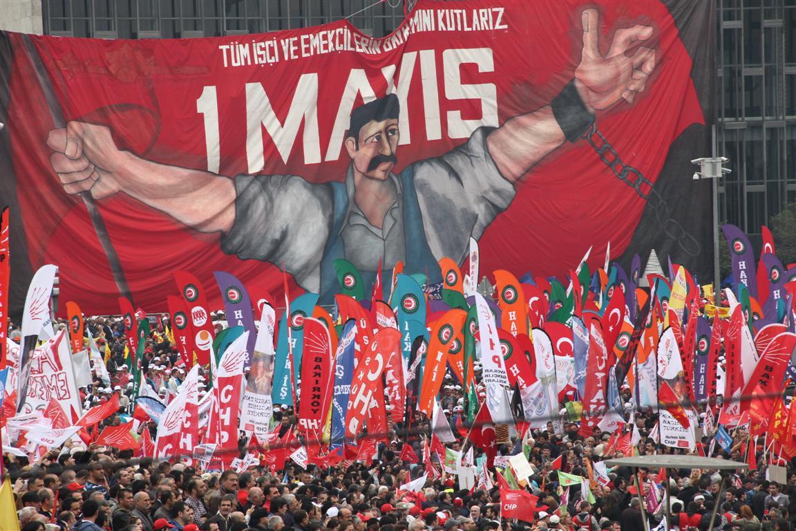 Türkiye'de 1 Mayıs İşçi Bayramı