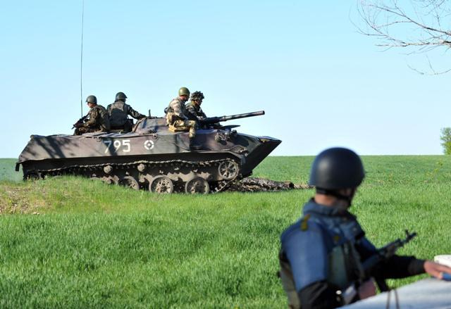 Ukrayna ordusundan Sloviansk için 'operasyon'