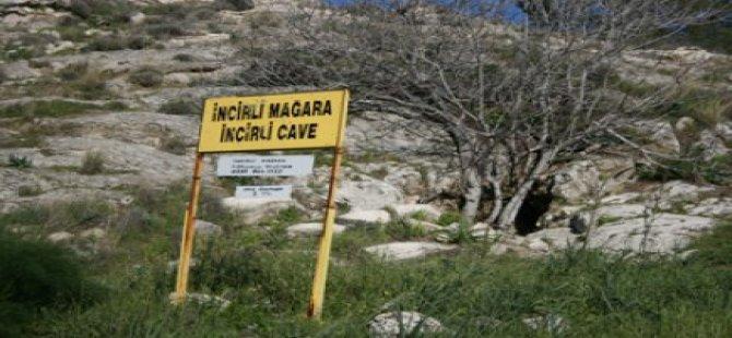 Geçitkale Belediyesi İncirli mağarayı düzenliyor
