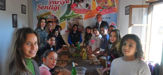 Girne Belediyesi Yarıyıl Şenliği sona erdi