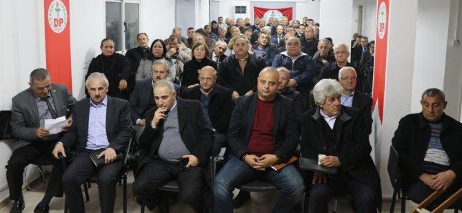 DP genişletilmiş parti meclisi dün akşam toplandı