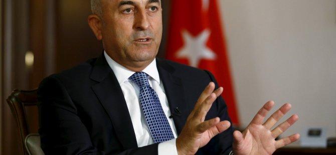 TC Dışişleri Bakanı Çavuşoğlu Almanya'da
