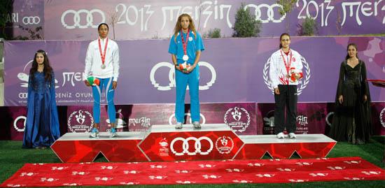 Rumlar Akdeniz Oyunları'nda 14. sırada yer aldı