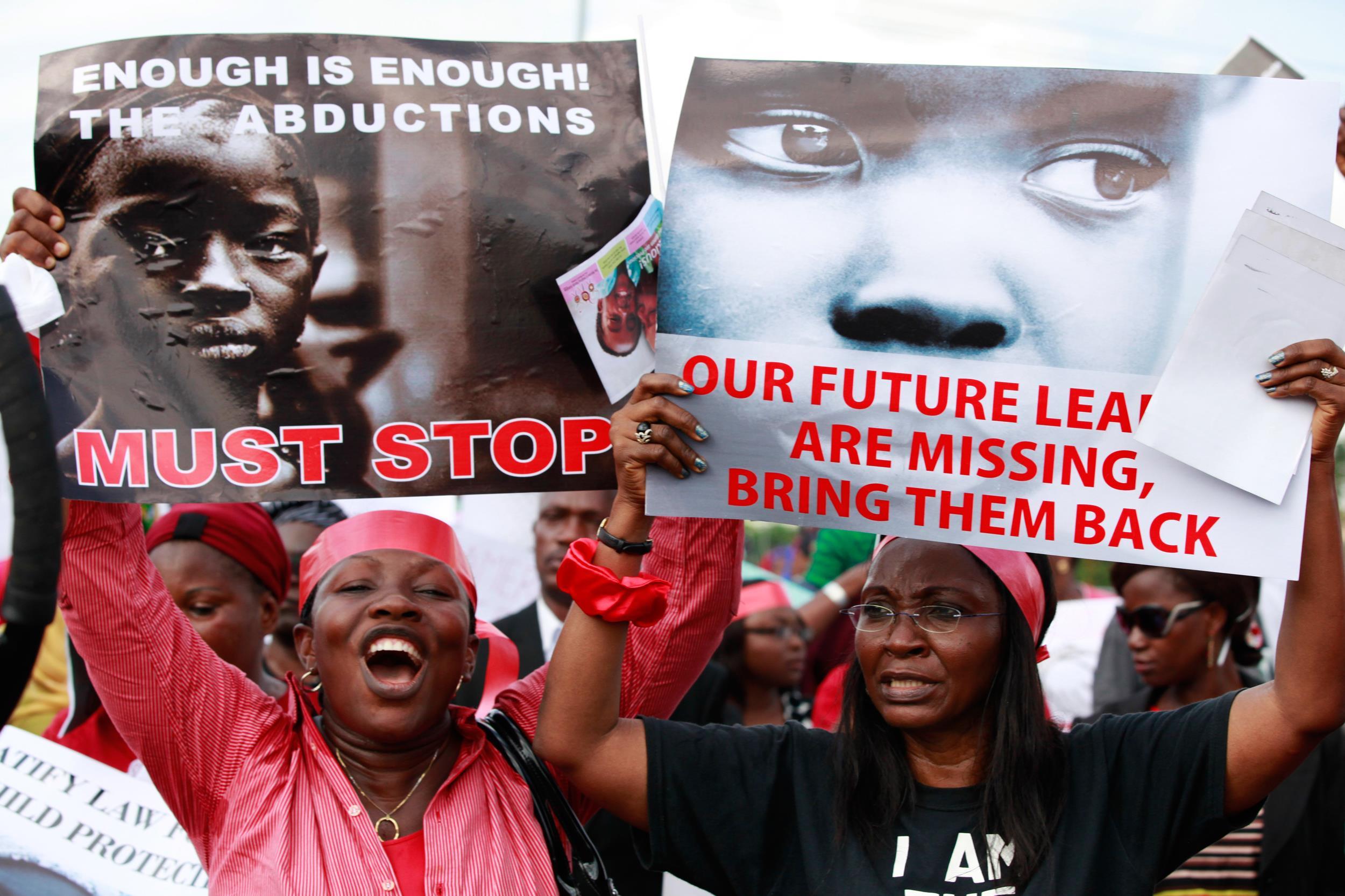Nijerya'da kaçırılan kızlar için ABD devrede