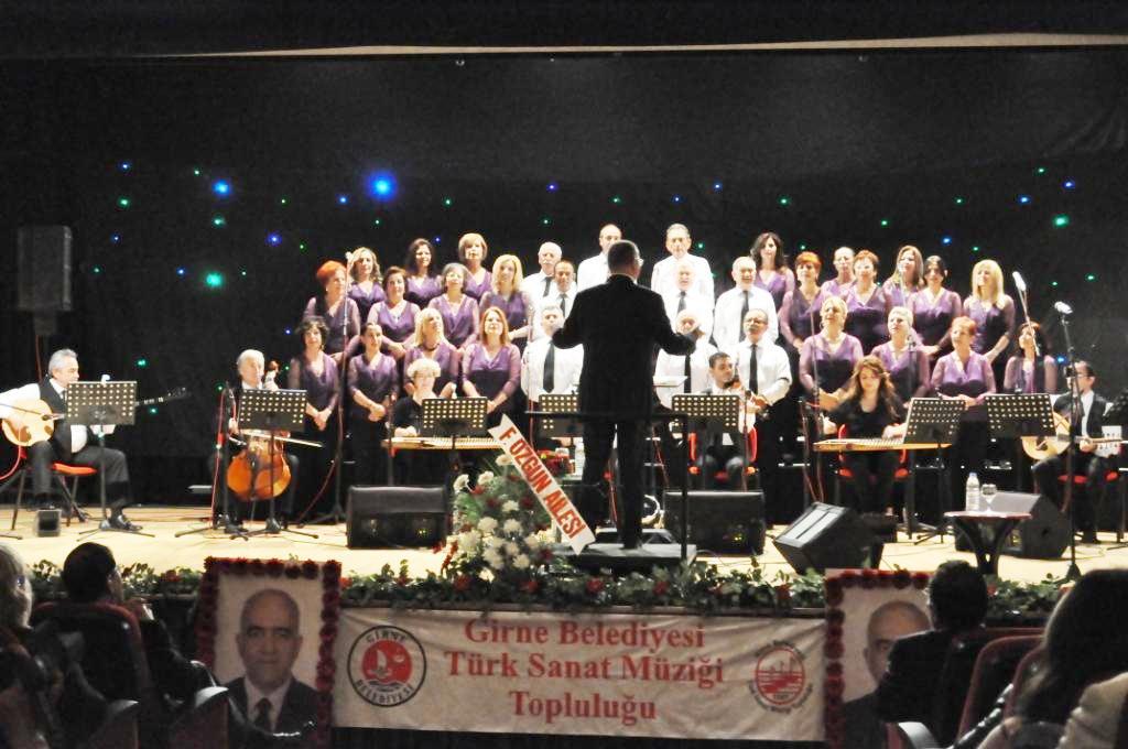 Girne Belediyesi Türk Sanat Müziği Topluluğu, 47. Konserini verdi...