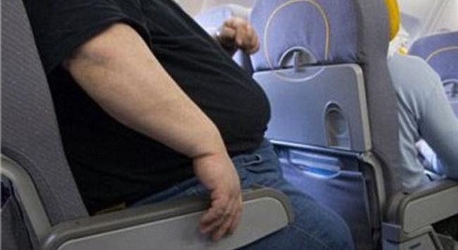 Uçakta X-large koltuk!