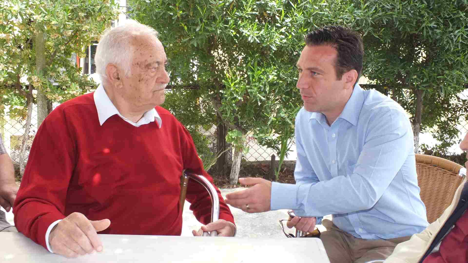 Mustafa Şener Emeklilerle Görüştü