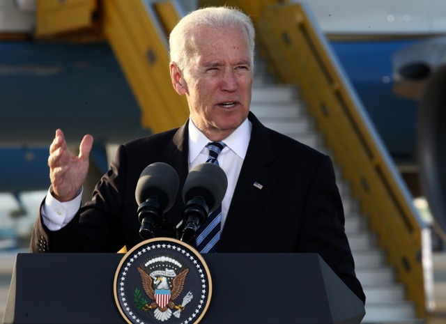 ABD Başkan Yardımcısı Biden Filistin'de