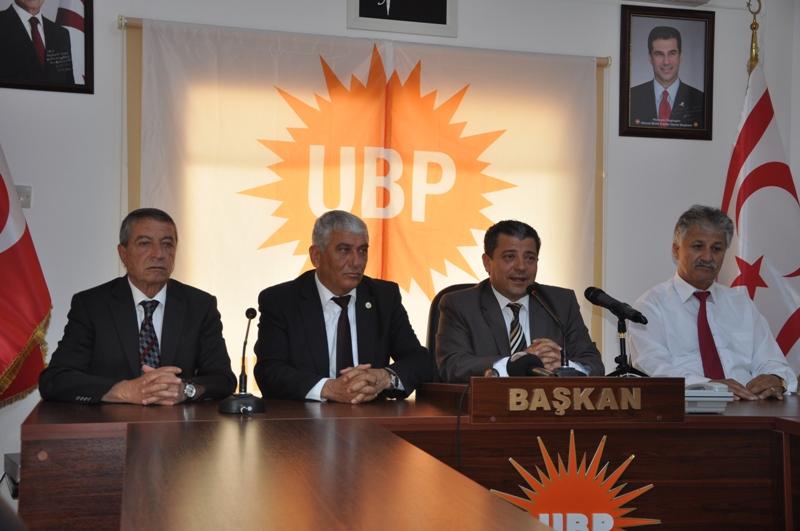UBP Güzelyurt İlçesi Belediye Başkan ve meclis üyesi adaylarını açıkladı