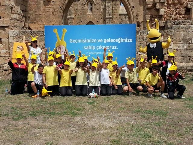 Kuzey Kıbrıs Turkcell desteğinde Arkeopark'a yoğun ilgi