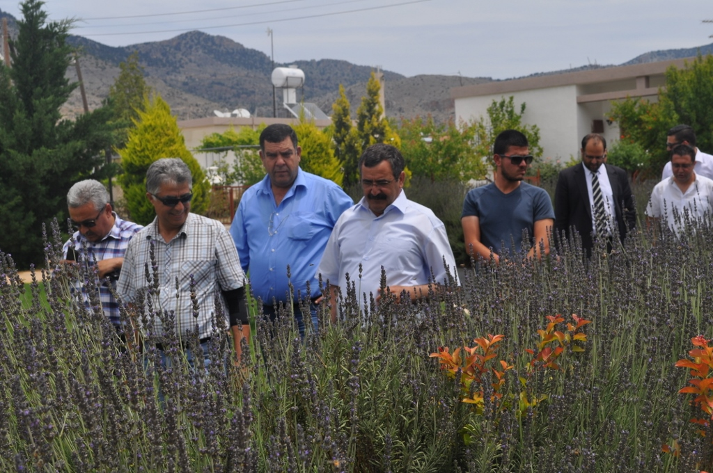 Ekinci, Dikmen Belediye Başkanı Çelebi'yi ziyaret etti