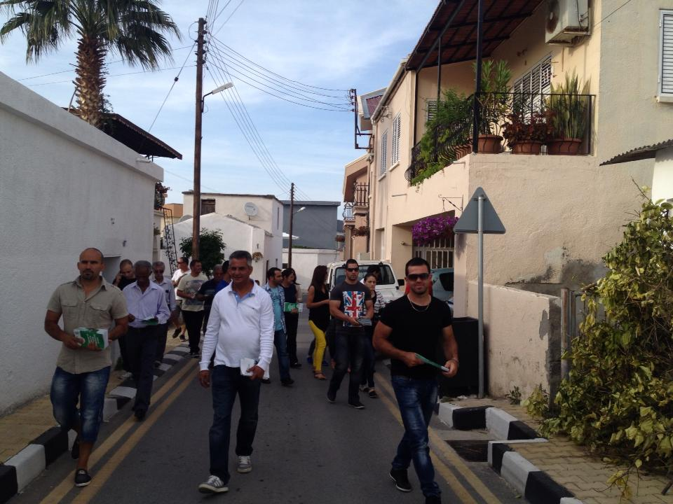 Kırok Çatalköy ve Arapköy'ü gezerek halkla buluştu