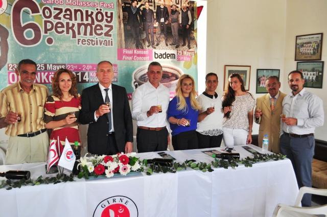 Ozanköy Pekmez Festivali yarın başlıyor