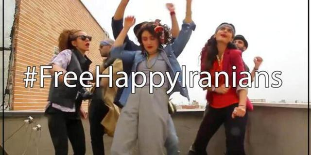İran'da mutluluk klipine 6 gözaltı