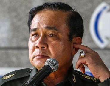 Tayland'da askeri darbe