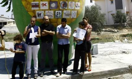 GDO, Yeniboğaziçi'nde protesto edildi
