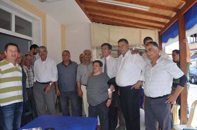 CTP-BG Alsancak ve Lapta Belediye başkan adayları bölgelerinde halkla bir araya geldi